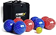 St Pierre Sports Sport Bocce Set, Red/Blue, 100mm