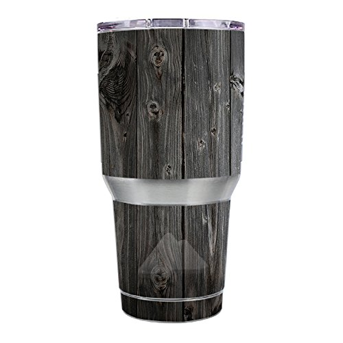 Skin Decal Vinyl Wrap for Ozark Trail 30 oz. Tumbler skins stickers cover / Reclaimed Grey Wood Old by itsaskin (Image #1)