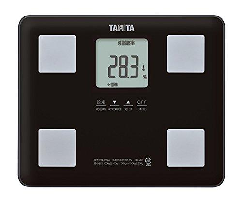 タニタ7-2899-02体組成計ブラックBC-760-BK B07BD339Y1