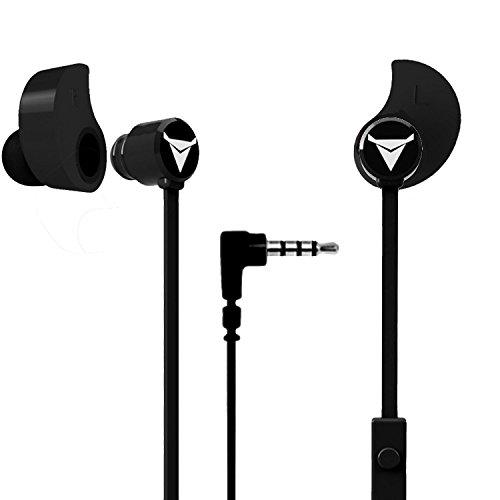 Decibullz - هدفون های گوش محصور شده Contour ES در قالب های سفارشی ، به راحتی و به سرعت به گوش های شما شکل داده می شوند (سیاه)
