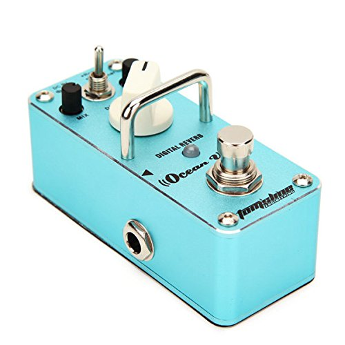 Pink Lizard AROMA AOV-3 OCEAN VERB Effect Pedal Digital Reverb Guitar Effect Pedal Iii Guitar Effects