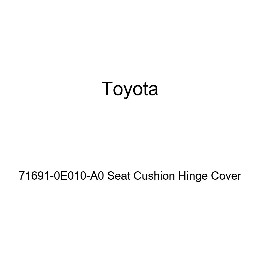 TOYOTA Genuine 71691-0E010-A0 Seat Cushion Hinge Cover