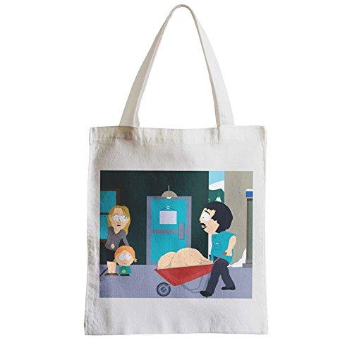 Große Tasche Sack Einkaufsbummel Strand Schüler South Park Randy Marsh Bälle Bälle