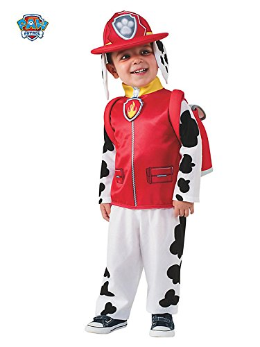 Rubies Costume Toddler PAW Patrol Marshall Child Costume