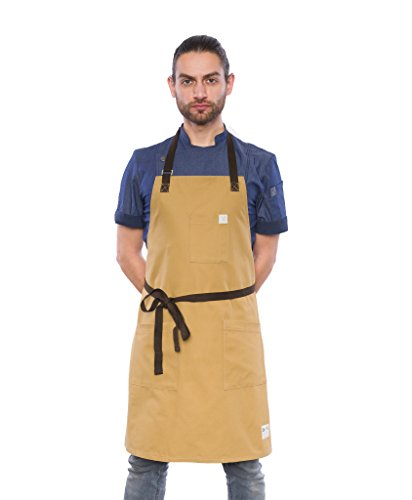 Crew Apparel Ka American Brushed Canvas Apron Made in USA by Crew Apparel