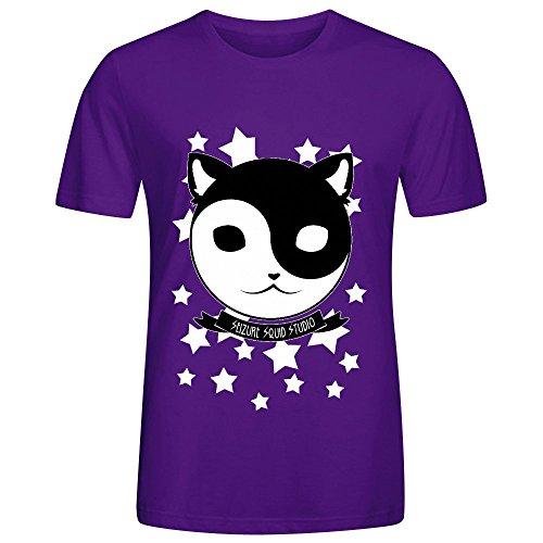 Yin Yang Meow Cat Of Balance Men O Neck Art Shirts - Sun Check Balance