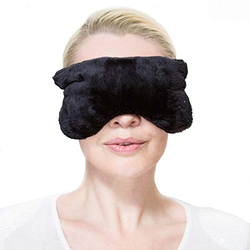 Aromatherapy Eye Mask Pillow: Microwavable Heating Pad; Relieves Headache, Sinus, Migraine; Helps with Dry, Puffy, Under and Dark Eyes; Sleep Mask; Compress Eye Mask for Sleeping, for Women and Men