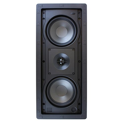 Klipsch R-2502-W II In-Wall Speaker - White (Each) by Klipsch