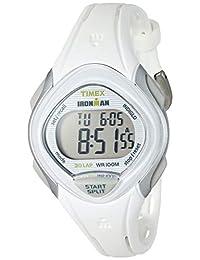 Timex Ironman - Reloj de pulsera de resina con correa de 30, Blanco