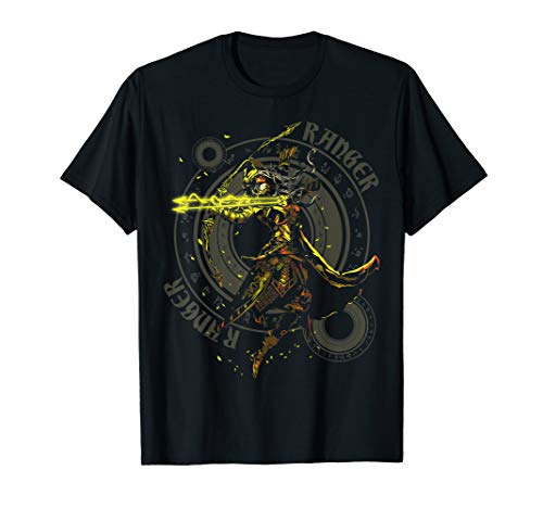 Elven Ranger Fantasy Class Graphic T Shirts for Gamers]()