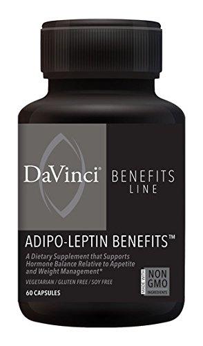 DaVinci Labs Adipo-Leptin Benefits, 60 capsules