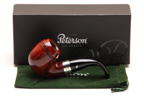 Peterson Sherlock Holmes Baskerville Smooth Tobacco Pipe PLIP