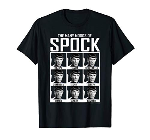 Star Trek Original Series Moods of Spock Graphic -