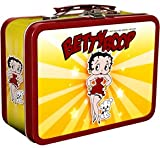 Betty Boop Collectible Tin Lunch Box with DVDs Includes 42 Betty Boop Cartoons Plus 75 Other Cartoons Including Casper, Little Lulu, Raggedy Ann, MOO MOO COW , Heckle and Jeckle and More.