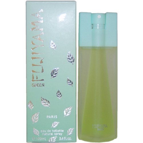 Fujiyama Green by Succes De Paris for Women - 3.4 Ounce EDT Spray