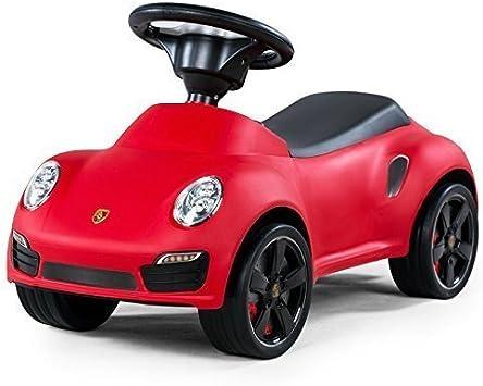 PORSCHE ROUGE 911 TURBO S Foot to Floor Porteur// Trotteur Leomark BABY Activit/é D/éveil Leomark V/éhicule pour Enfant