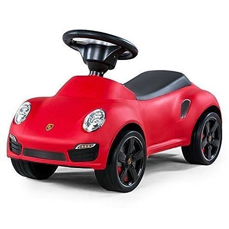 Porsche 911 Turbo S Rojo Juguetes de montar Correpasillos Para Niños: Amazon.es: Bebé