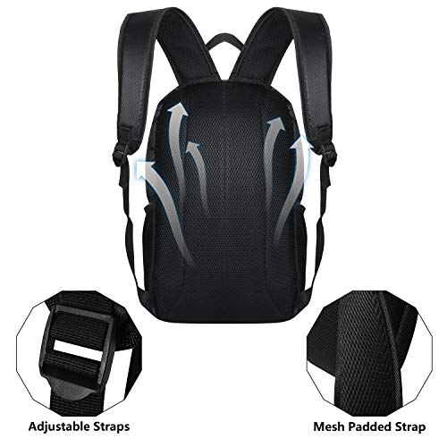 Laptop Backpack, SEEHONOR Travel Laptop Backpack with USB Charging Port, 15.6 Inch Slim Business Computer Backpack for… 5