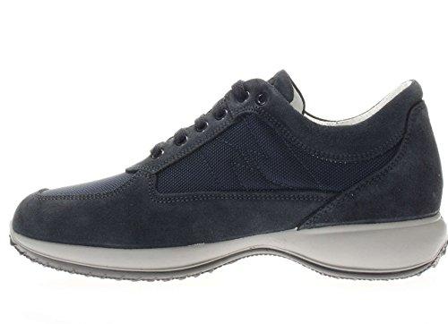 basse scarpe amp;CO Blu 76934 uomo BLU sneakers 00 IGI wPFgIqWI