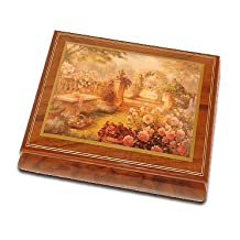 Lisa's Garden Beautiful Art Box From Ercolano - Barcarolle of Hoffman