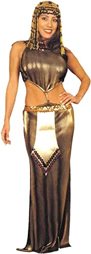BOS Adult Pleated Cleopatra Costume Size: Women's X-Small 3-5]()