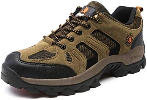 撥水機能 アウトドアシューズ トレッキングシューズ メンズ ローカット 4e ハイキングシューズ メンズ 登山靴 ウォーキングシューズ レースアップ スポーツ 軽量 クッション性 耐摩耗性