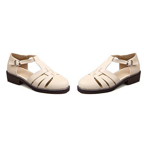 Beige 5 BalaMasa Beige Sandales EU Femme 36 Compensées wUUvZHqT4