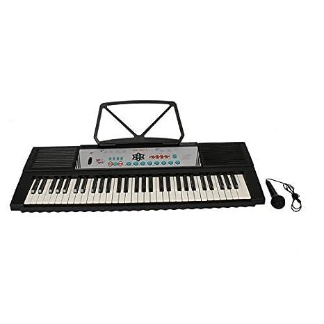 Mzamzi - Gran valor teclados eléctricos mk- 2067a 61 clave de música electrónica teclado de piano eléctrico: Amazon.es: Juguetes y juegos