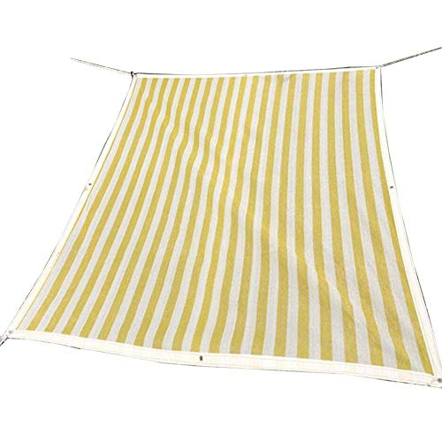 LIXIONG Sunshading Net Shading Breathable Multipurpose Floral Protective Awning With Metal Hole Polyethylene, 12 Size Shade Rate 85% Density 6 Needles (Color : Yellow, Size : 3x6m) by LIXIONG-pengbu