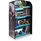 Kids Character 4 Shelf Bookcase, Bookshelf (Star Wars)
