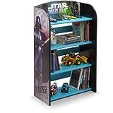 Kids Character 4 Shelf Bookcase, Bookshelf (Star Wars)