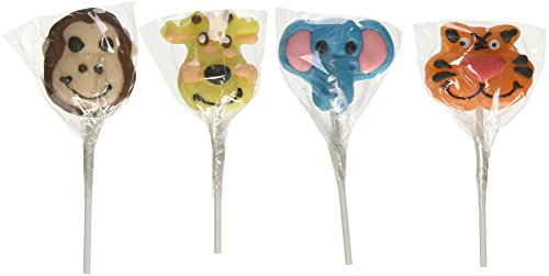 (Zoo Animal Lollipop Suckers (1 dz))