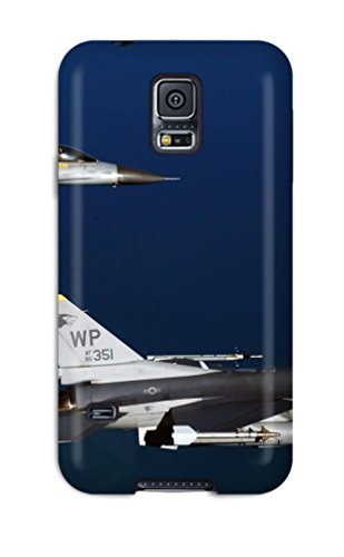New Premium PWjiybV20rSivy Case Cover For Galaxy S5/ Two F 16 Fighting Falcon Aircrafts Protective Case Cover