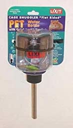 Lixit Flat Sided Quick Lock Water Bottle Aquarium Mount 5 oz