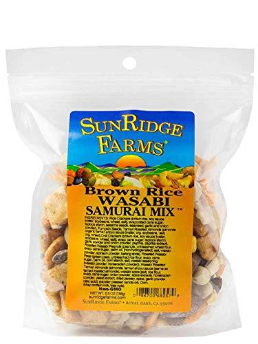 - SunRidge Farms Wasabi Samurai Mix, 5.5 Ounce Bag (Pack of 12)