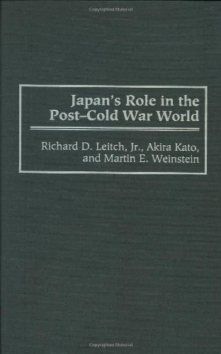 Download Japan's Role in the Post-Cold War World (Contributions in Political Science) Pdf