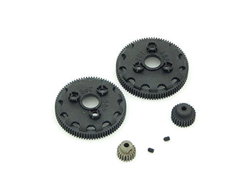 Traxxas 2wd 86 & 90 Tooth Spur 21 & 28 Pinion Gears 48 Pitch