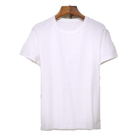 Top casual de verano para hombre Camiseta de algodón de ...
