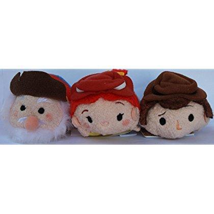 Disney Bundle of 3: Jessie, Woody and Stinky Pete ''Tsum Tsu