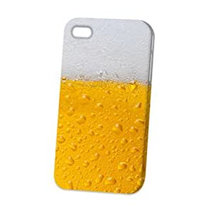 Case Fun Apple iPhone 4 / 4S Case - Vogue Version - 3D Full Wrap - Beer Glass