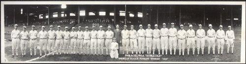Black American League Frame - 1929 Philadelphia