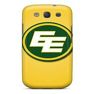 Fashion Tpu Case For Galaxy S3- Edmonton Eskimos Defender Case Cover