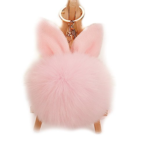 URSFUR Artificial Rabbit Keychain Pendant product image