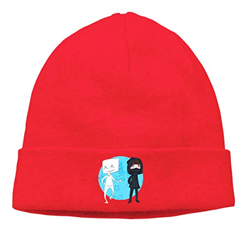 Pautabely Unisex Marshmello Alan Walker Funny Comfortable Warm Knitted Hat for Mens Women Boys & Girls One Size ()