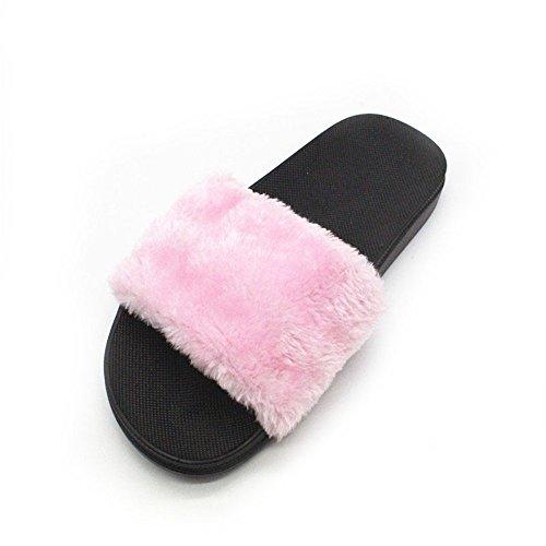 F F Sandales Mode Mesdames Chaussures Shoes Chaussons Pantoufles floue int Maison Glisser rrngaRqC