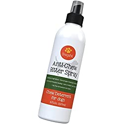Bitter Apple Spray For Dogs to Discourage Chewing - Chew Deterrent for Puppy - Great for Puppies and Dog Training (8 oz.)