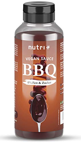 BBQ SAUCE zonder suiker & vet – slechts 2 calorieën per portie Barabecue saus – veganistisch, rokerig + licht…
