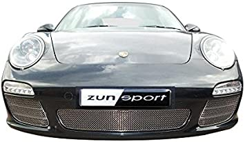 - Silver finish 4 Porsche 997.1 C4S Outer Grille Set 2004 to 2008
