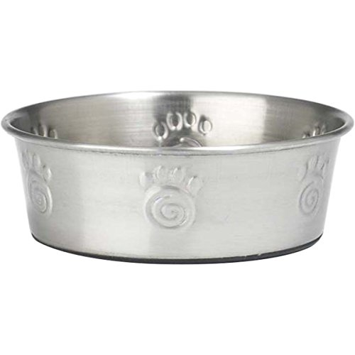 Petrageous Designs Cayman Classic Stainless Steel Pet Bowl, Holds 1.5 Cups ()
