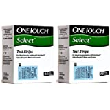 One Touch Select Diabetes test Strips 50x2